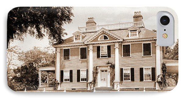 The Longfellow House, Cambridge, Longfellow, Henry IPhone Case