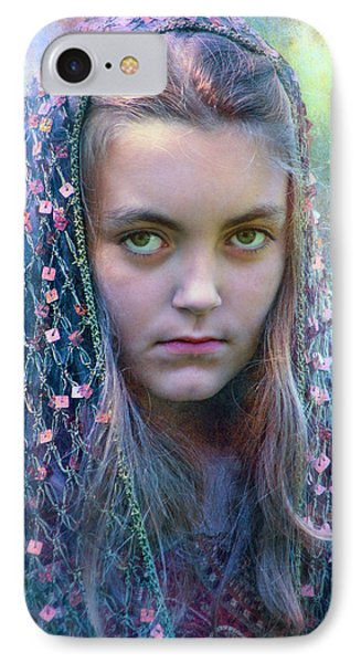 The Look Of Olivia IPhone Case by John Rivera