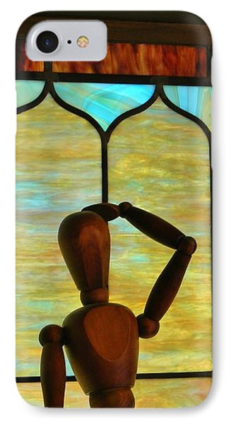 The Lookout IPhone Case by Jean Goodwin Brooks
