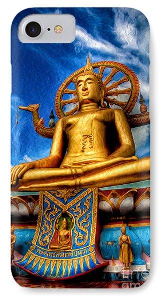 The Lord Buddha IPhone Case