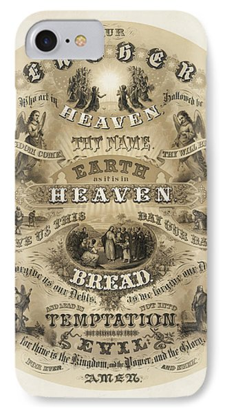 The Lords Prayer Phone Case by Bill Cannon