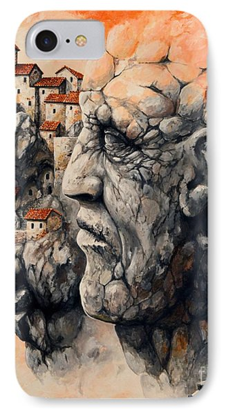The Lost City - The Sentinel Phone Case by Emerico Imre Toth