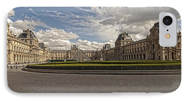 The Louvre IPhone Case by Mauro Celotti