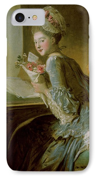 The Love Letter Phone Case by Jean Honore Fragonard