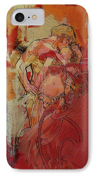 The Lovers  Phone Case by Corporate Art Task Force