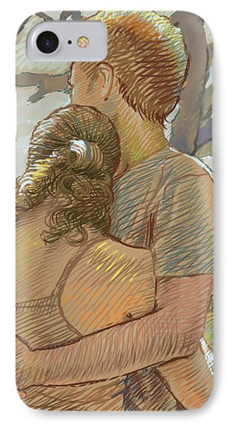 The Lovers IPhone Case by Dominique Amendola