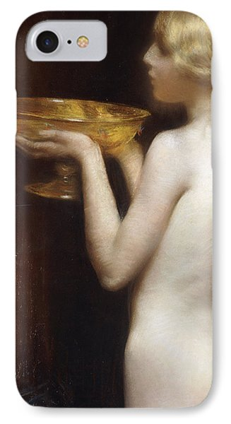 The Loving Cup IPhone Case by Janet Agnes Cumbrae-Stewart