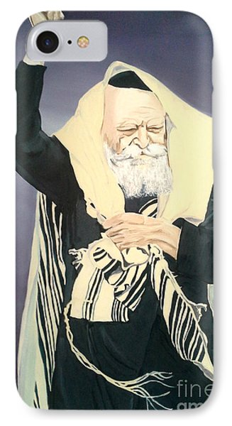 The Lubavitcher Rebbe Farbrengs IPhone Case