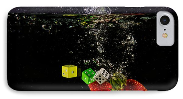 The Lucky 7 Splash Phone Case by Rene Triay Photography