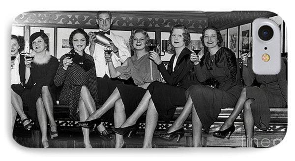 The Lucky Bartender IPhone 7 Case by Jon Neidert