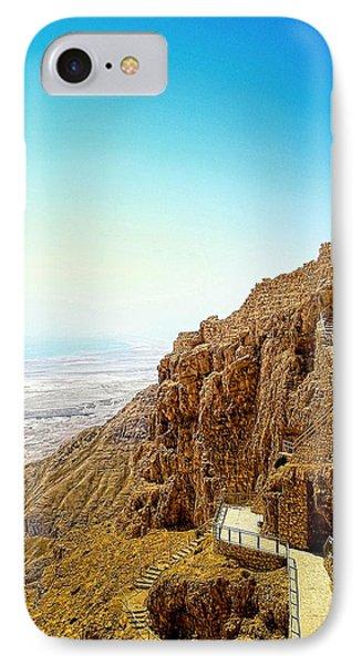The Machabees And Their Masada Phone Case by Sandra Pena de Ortiz