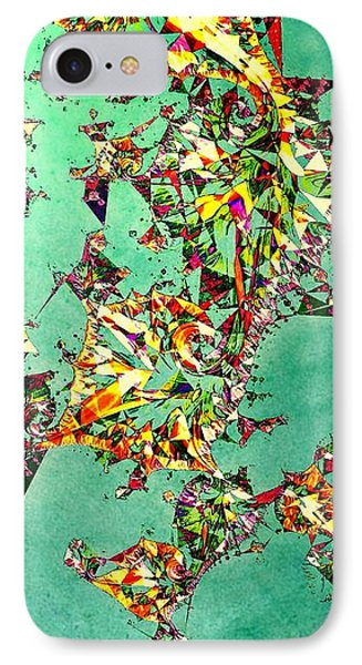 The Mad Hatter's Fractal IPhone Case by Susan Maxwell Schmidt