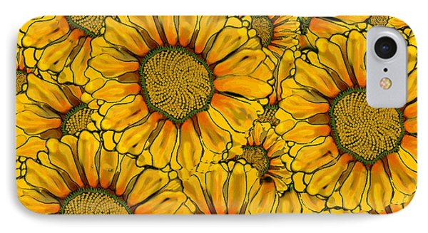 The Madding Crowd IPhone Case by Carol Jacobs
