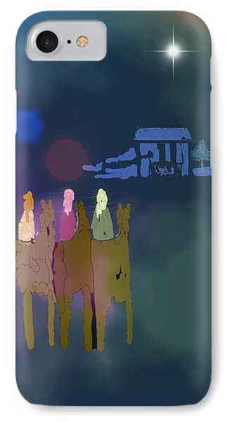 IPhone Case featuring the digital art The Magi by Arline Wagner