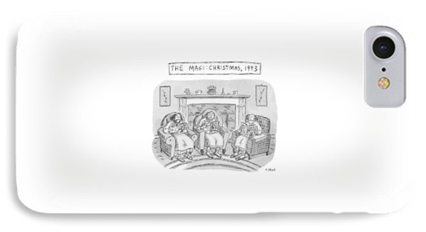The Magi:  Christmas IPhone Case by Roz Chast