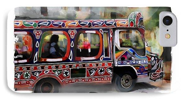 The Magic Bus IPhone Case by Bob Salo