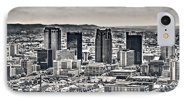 The Magic City Bw IPhone Case