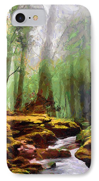 The Magic Forest IPhone Case by Tyler Robbins
