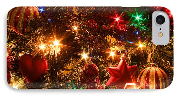 The Magic Of Christmas Phone Case by Julia Fine Art And Photography