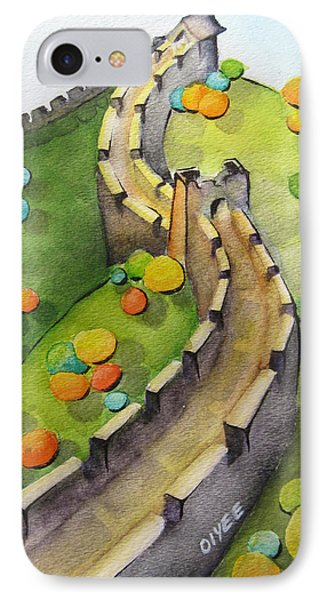 The Magical Great Wall IPhone Case