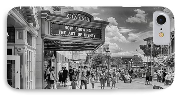 The Main Street Cinema IPhone Case by Howard Salmon