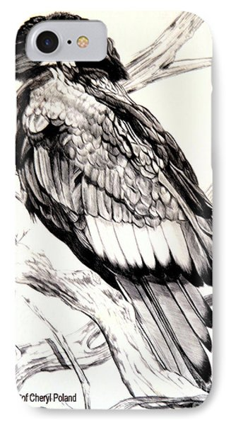 The Majestic Russian Stellar Eagle IPhone Case by Cheryl Poland