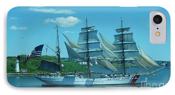 The Majestic Us Coast Guard Phone Case by John Malone