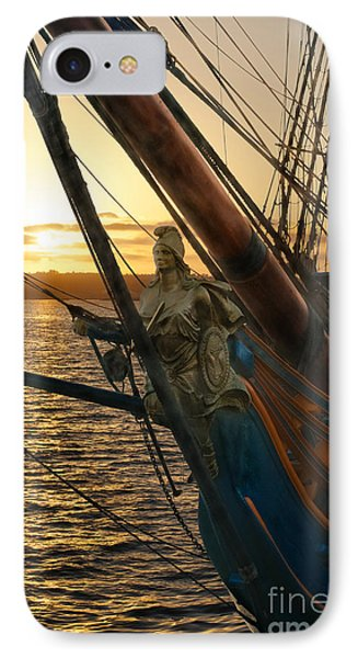 The Majesty Of The Ocean IPhone Case by Claudia Ellis