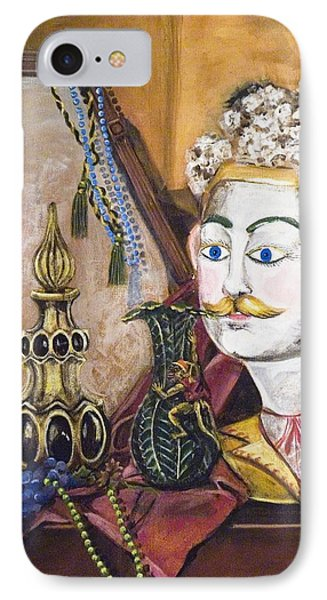 IPhone Case featuring the painting The Man In The Mirror by Susan Culver