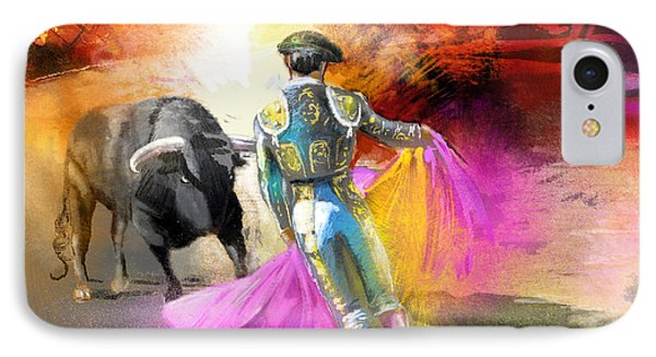 The Man Who Fights The Bull IPhone Case