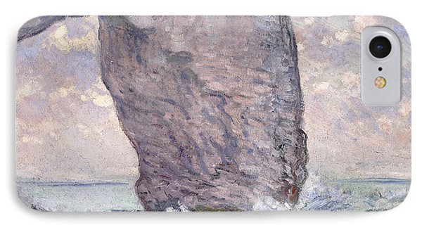 The Manneporte Seen From Below IPhone Case by Claude Monet