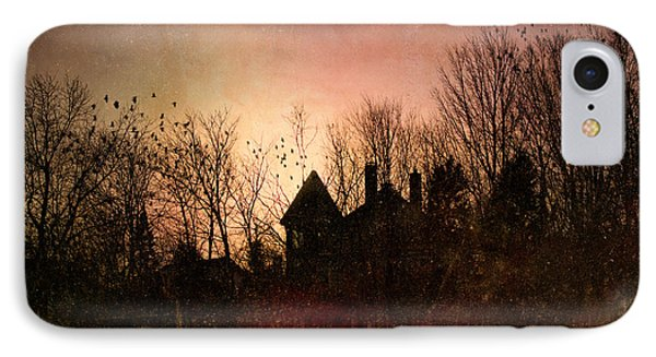The Mansion Is Warm At The Top Of The Hill Phone Case by Bob Orsillo