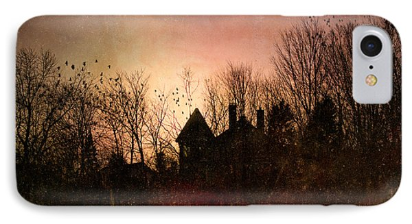 The Mansion Is Warm At The Top Of The Hill IPhone Case by Bob Orsillo