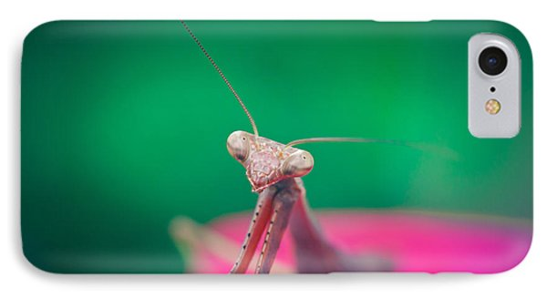 The Mantis IPhone Case by Shane Holsclaw
