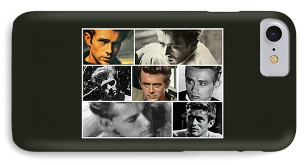 James Dean The Many Faces IPhone Case by Jay Milo