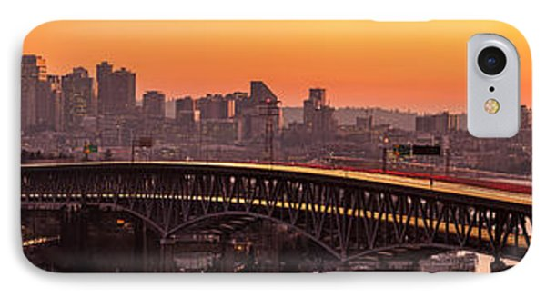 The Many Shades Of Seattle Sunset IPhone Case