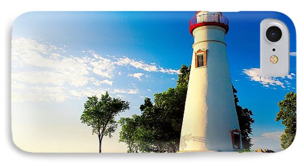 The Marblehead Light IPhone Case by Nick Zelinsky