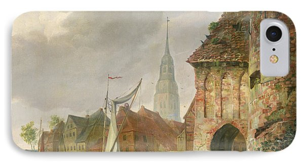 The March Gate In Buxtehude IPhone Case