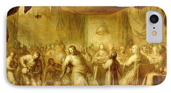 The Marriage At Cana IPhone Case by Adriaen Pietersz. van de Venne