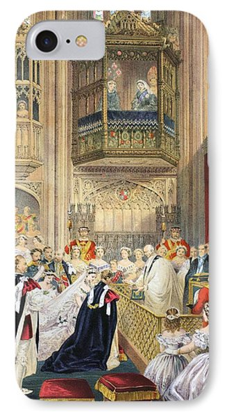 The Marriage At St Georges Chapel Phone Case by English School