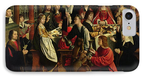 The Marriage Feast At Cana IPhone Case by Gerard David