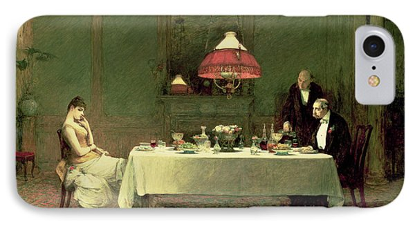 The Marriage Of Convenience, 1883 IPhone Case by Sir William Quiller Orchardson