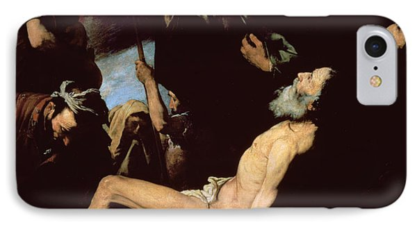 The Martyrdom Of Saint Andrew IPhone Case