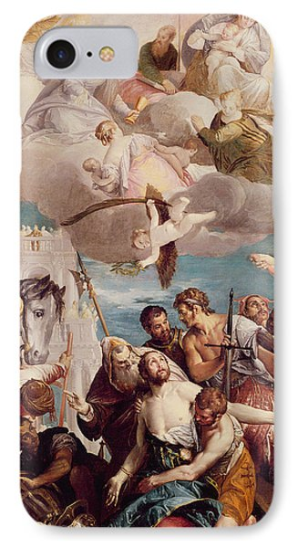 The Martyrdom Of Saint George IPhone Case by Veronese