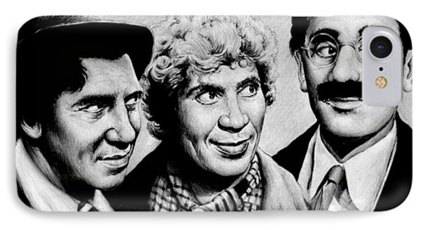 The Marx Brothers Phone Case by Andrew Read