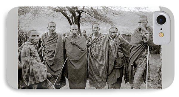The Masai IPhone Case by Shaun Higson