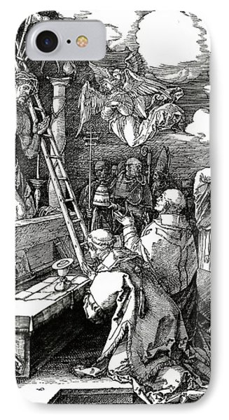 The Mass Of St. Gregory Phone Case by Albrecht Duerer