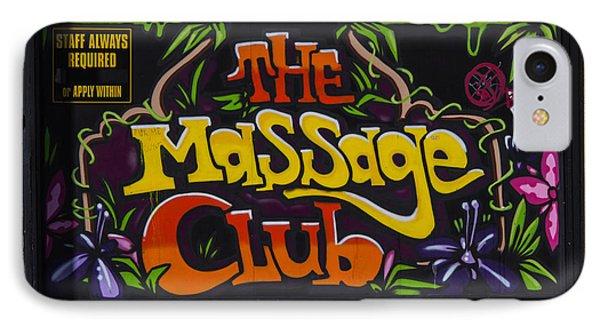 The Massage Club Phone Case by Brian Roscorla