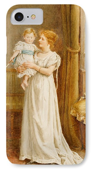The Master Of The House IPhone Case by George Goodwin Kilburne