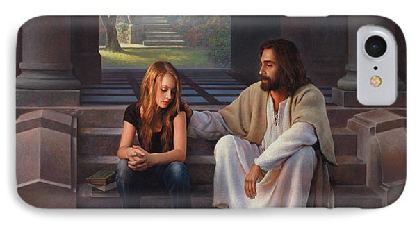 The Master's Touch IPhone Case by Greg Olsen